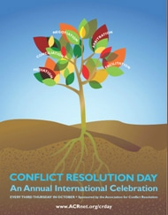 Today is International Conflict Resolution Day